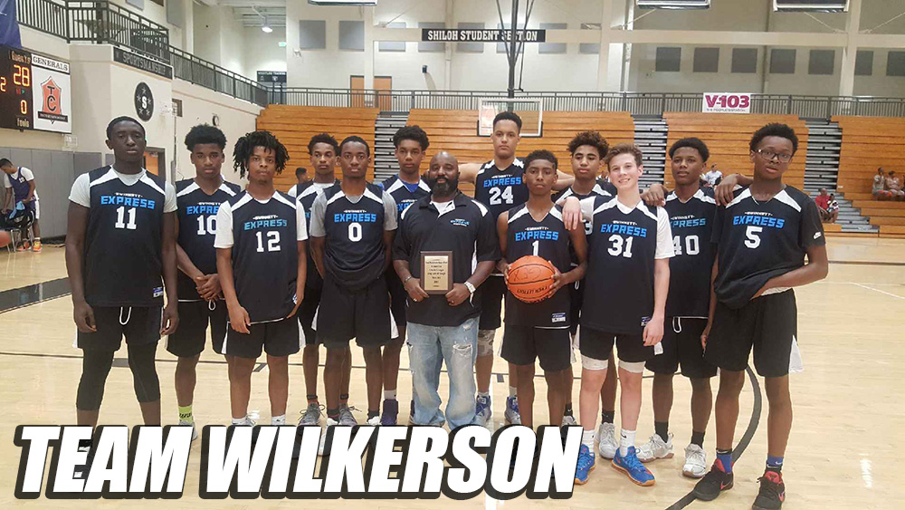 Congrats To Team Wilkerson – Runner Up